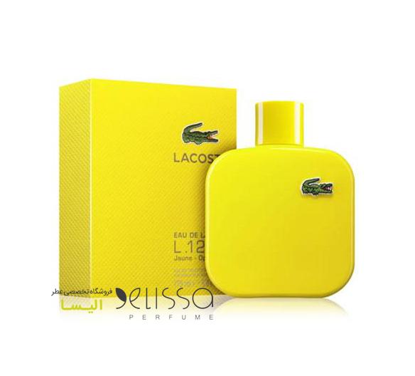 ادکلن لاگوست ال.12.12 یلو (زرد)