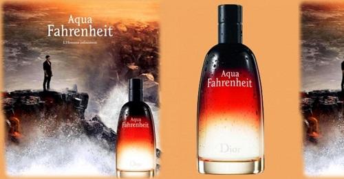 دیور آکوا فارنهایت Dior aqua fahrenheit