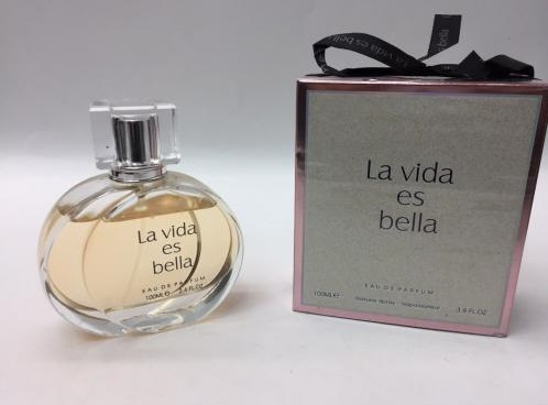 عطر ارزان قیمت FRAGRANCE WORLD LA VIDA ES BELLA