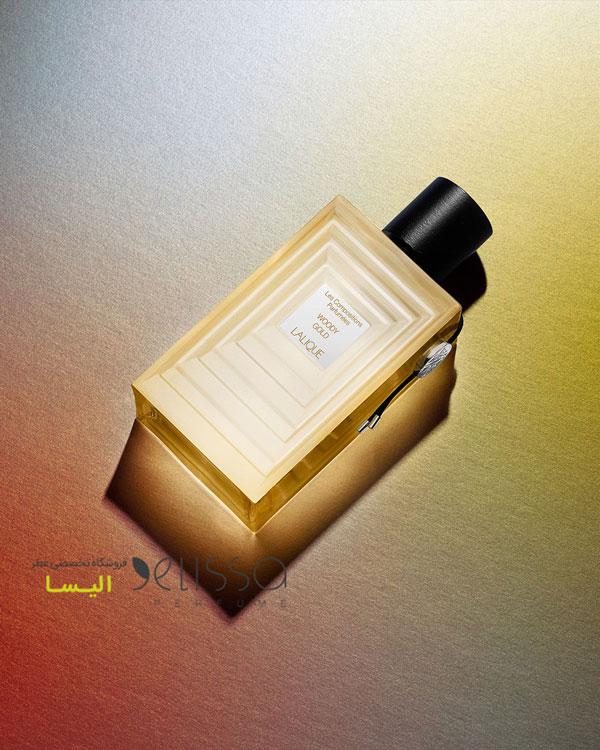 ادکلن لالیک وودی گلد طلایی